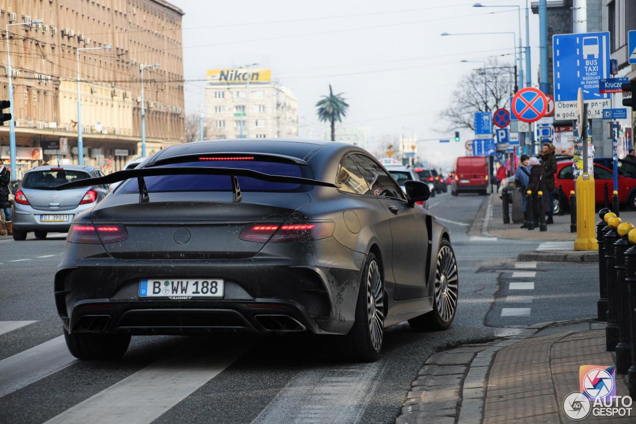 Mercedes benz mansory s 63 amg coupe black edition 28 for Mercedes benz black edition