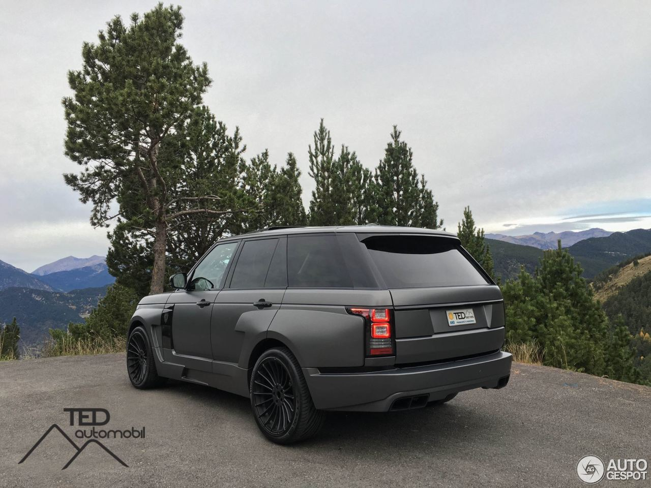 land rover hamann range rover myst re 29 februari 2016. Black Bedroom Furniture Sets. Home Design Ideas