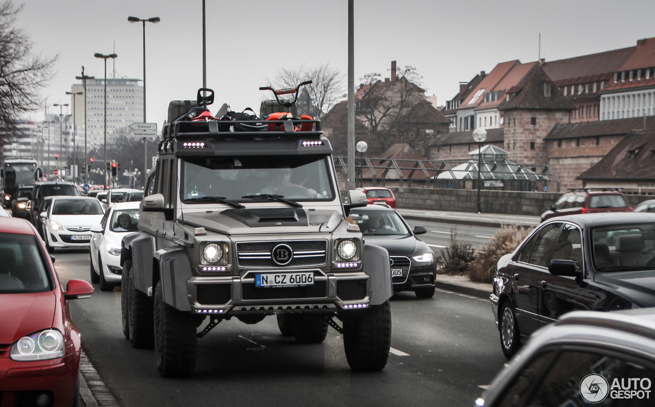 Mercedes-Benz Brabus B63S 700 6x6 - 2 March 2016 - Autogespot