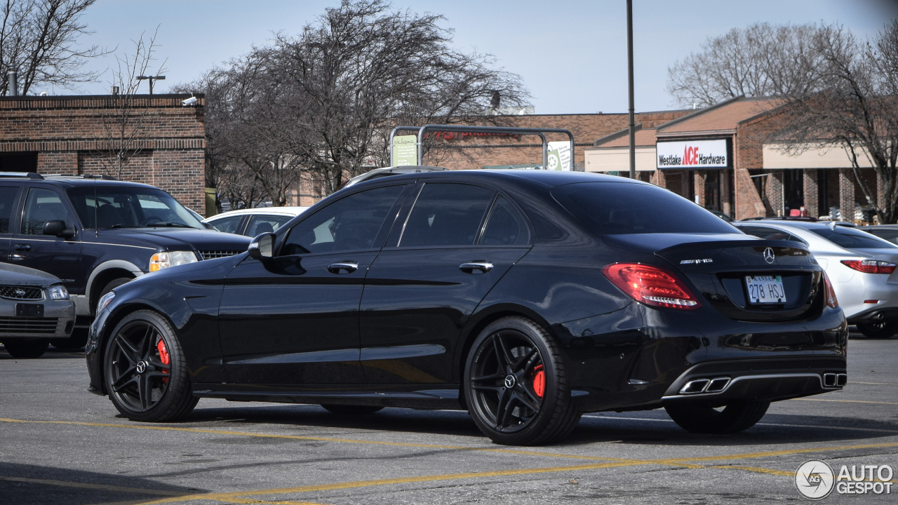 mercedes amg c 63 s w205 3 march 2016 autogespot. Black Bedroom Furniture Sets. Home Design Ideas