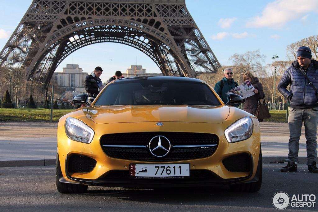 Mercedes Eiffel Tower : Mercedes amg gt s edition maart autogespot
