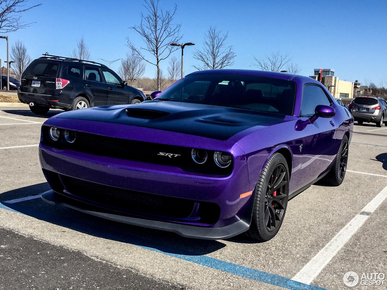 Dodge Challenger Srt 8 Hellcat 4 March 2016 Autogespot