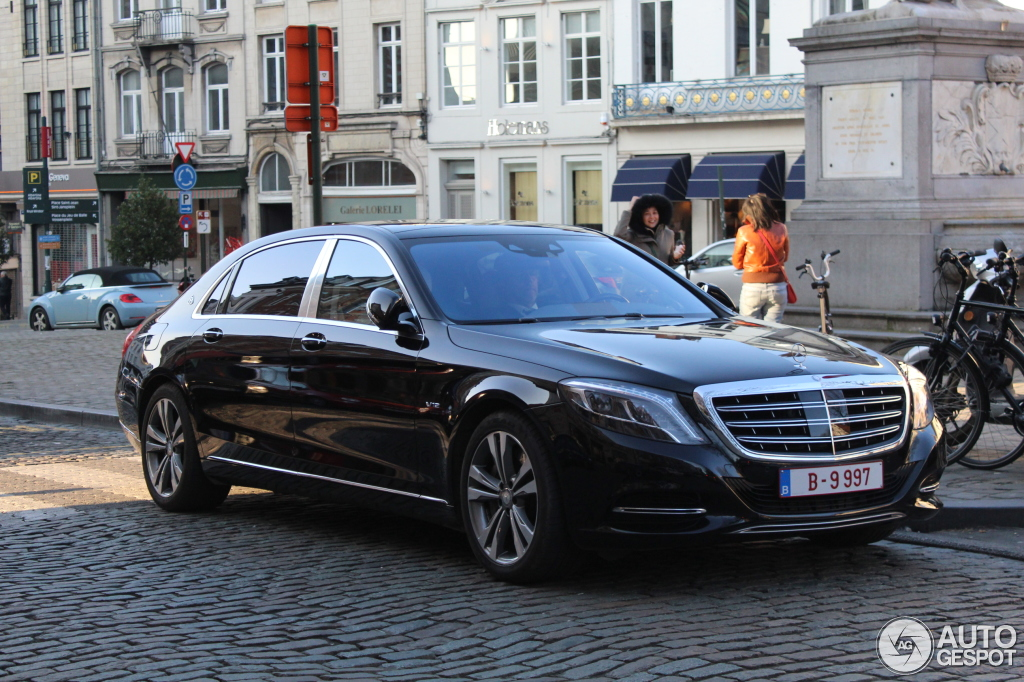Mercedes-Maybach S600 - 14 March 2016 - Autogespot
