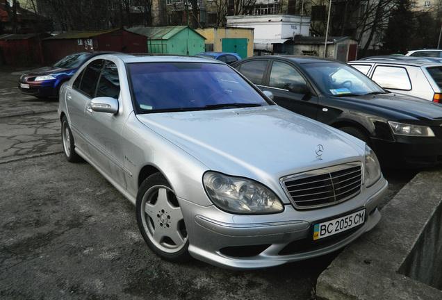 Mercedes-Benz S 55 AMG W220 Kompressor