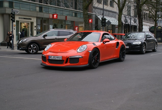 Porsche 991 GT3 RS
