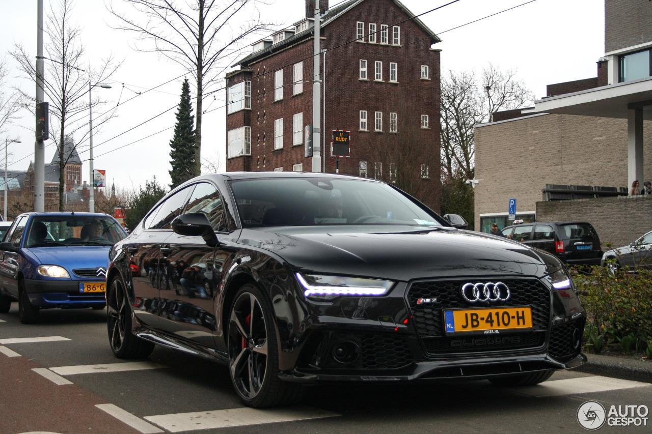 Audi Rs7 Sportback 2015 20 Mars 2016 Autogespot