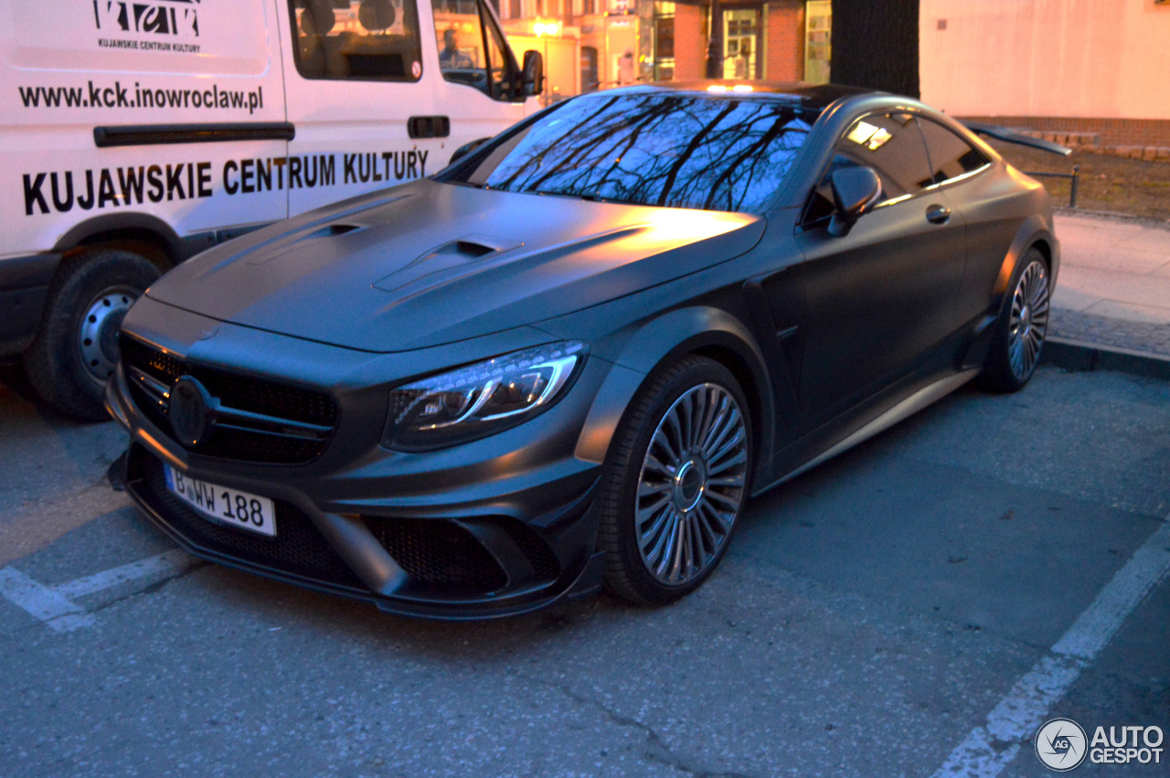 Mercedes Benz Mansory S 63 Amg Coup 233 Black Edition 22