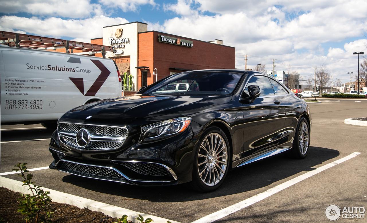 Mercedes Benz S 65 Amg Coup 233 C217 23 March 2016 Autogespot