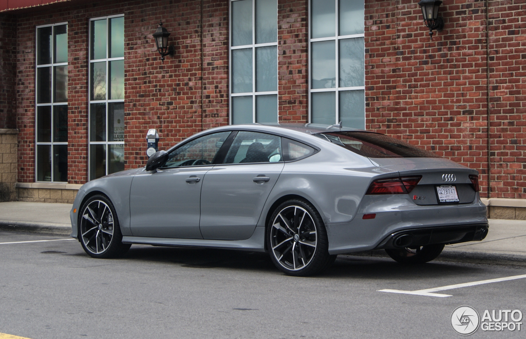 Audi Rs7 Sportback 2015 Performance 24 Mrz 2016 Autogespot