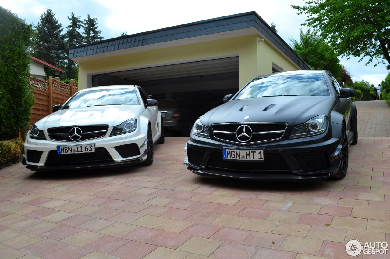 Mercedes Benz C 63 Amg Coup 233 Black Series 24 Mars 2016