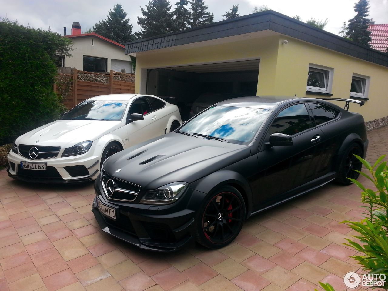 Mercedes benz c 63 amg coup black series 24 march 2016 for C series mercedes benz
