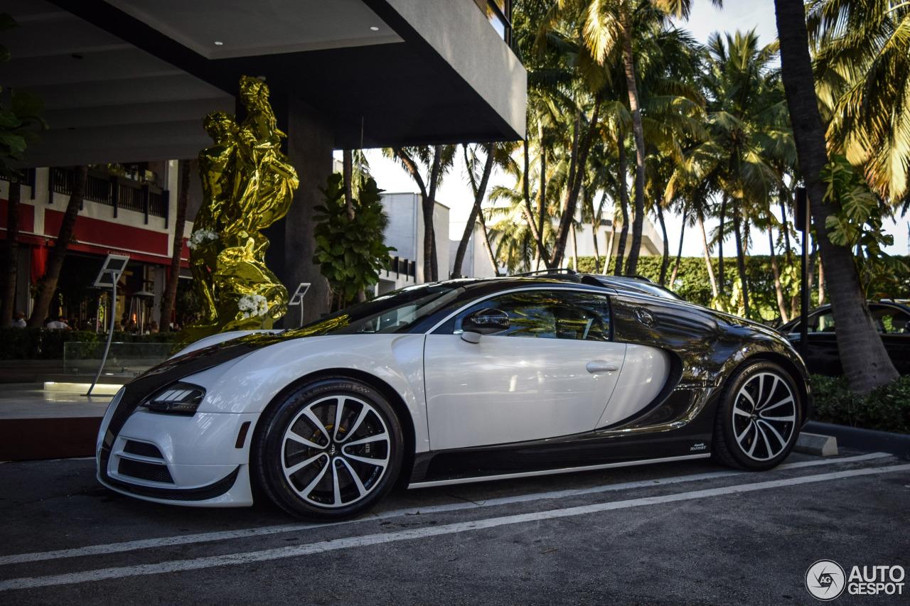 Beau Bugatti Veyron 16.4 Mansory Vivere