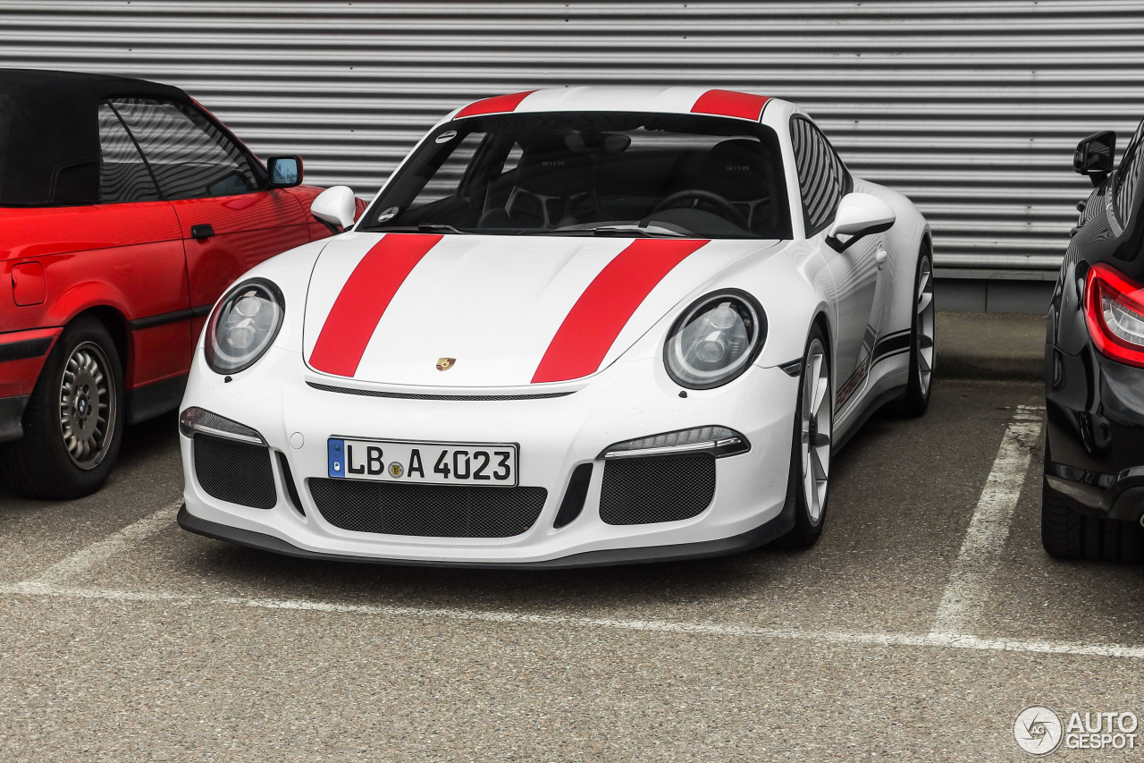 porsche 911 r 25 march 2016 autogespot. Black Bedroom Furniture Sets. Home Design Ideas