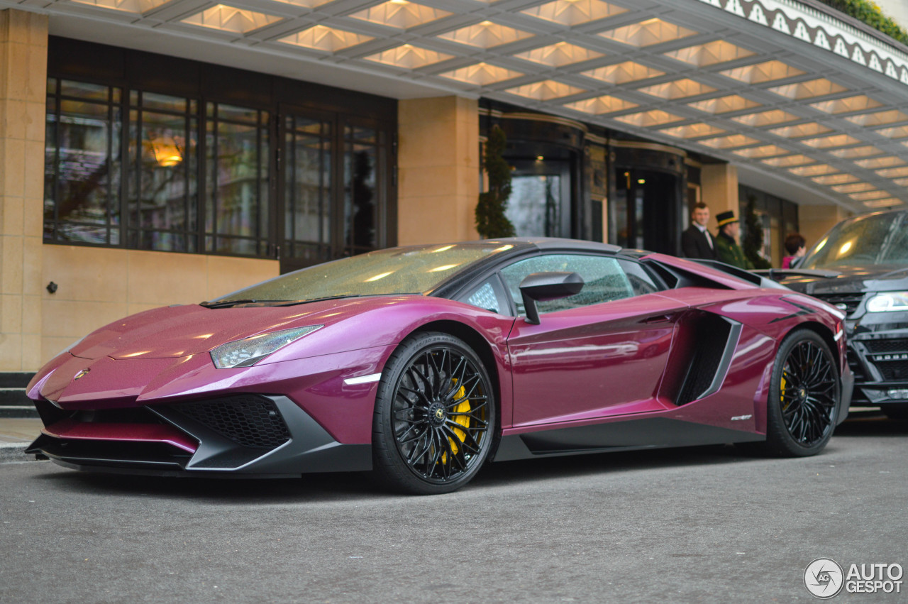 Lamborghini Aventador Lp750 4 Superveloce Roadster 27