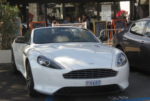 Aston Martin DB9 Volante 2015 Carbon White Edition