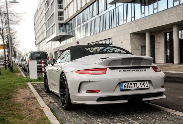 Porsche 991 Techart Carrera GTS Cabriolet