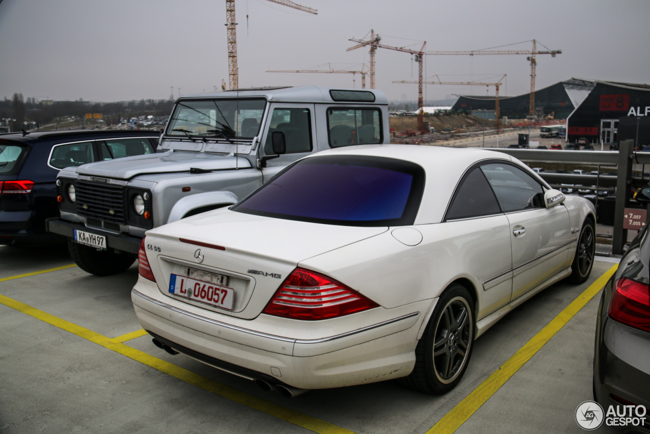 mercedes benz cl 55 amg c215 kompressor 31 march 2016 autogespot. Black Bedroom Furniture Sets. Home Design Ideas