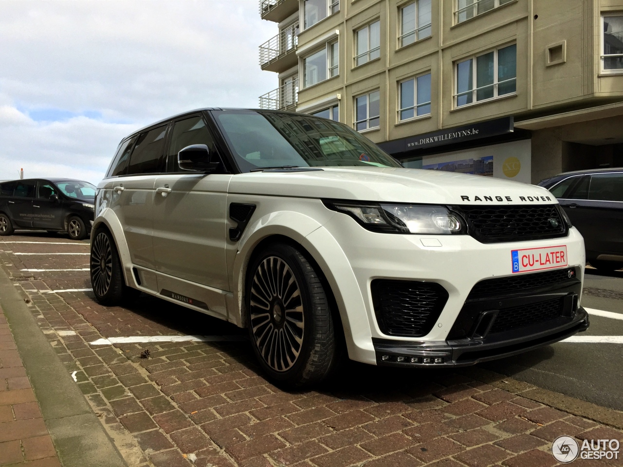 land rover mansory range rover sport svr 2 april 2016 autogespot. Black Bedroom Furniture Sets. Home Design Ideas