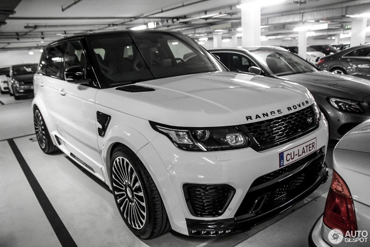 Land Rover Mansory Range Rover Sport Svr 2 Avril 2016