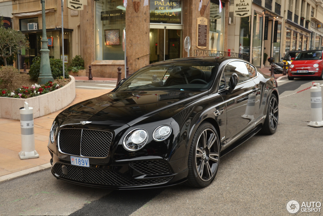Bentley Continental Gt Speed 2016 3 Avril 2016 Autogespot