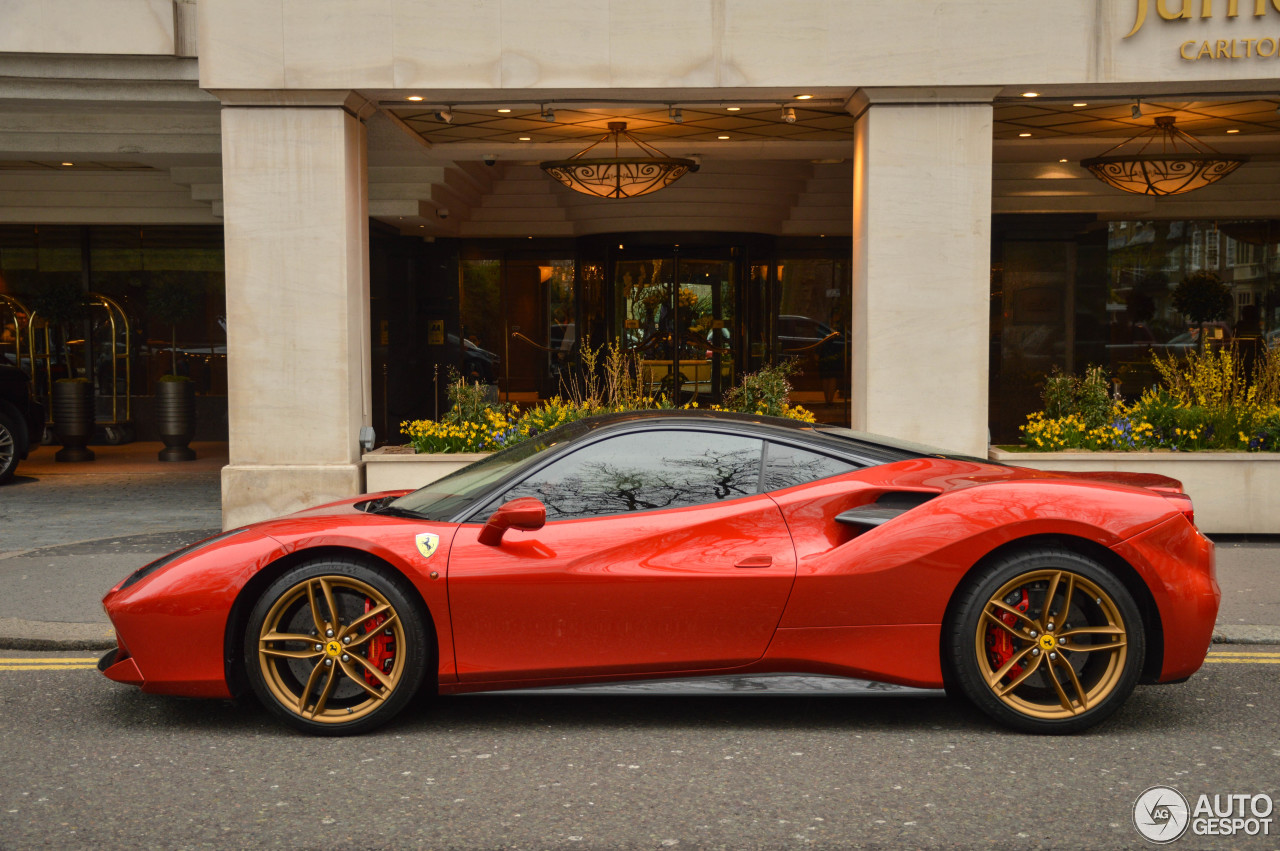 ferrari 488 gtb 5 april 2016 autogespot. Black Bedroom Furniture Sets. Home Design Ideas