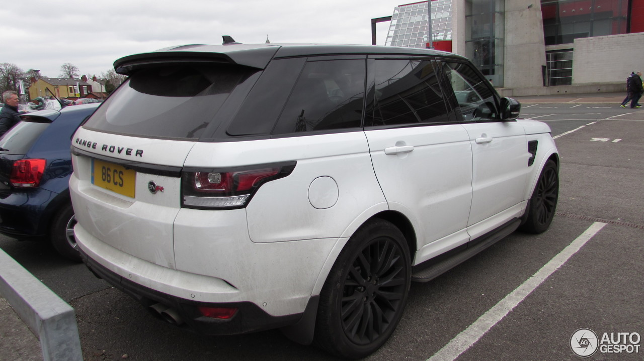 land rover range rover sport svr 5 april 2016 autogespot. Black Bedroom Furniture Sets. Home Design Ideas