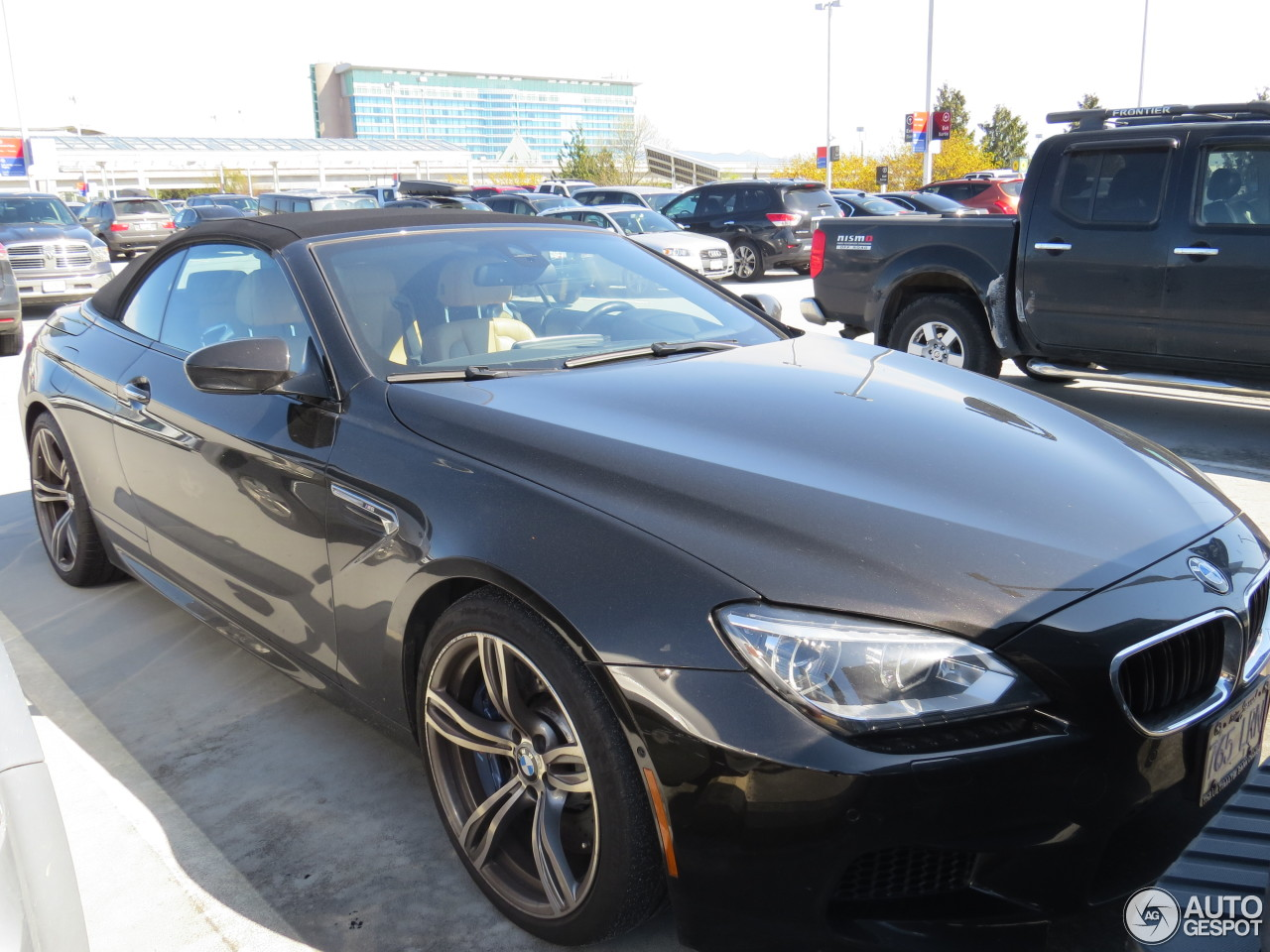 bmw m6 f12 cabriolet 10 april 2016 autogespot. Black Bedroom Furniture Sets. Home Design Ideas