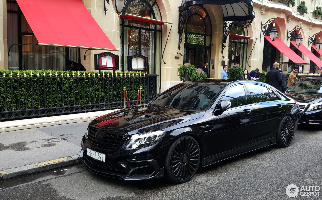 mercedes benz mansory s63 amg w222   13 april 2016