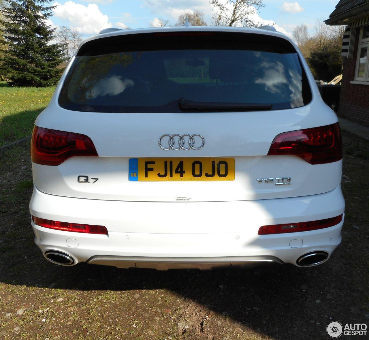 Audi Q7 Diesel: Audi Q7 V12 TDI