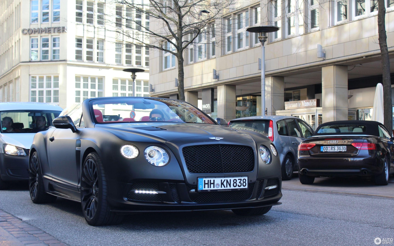 Bentley Mansory Continental GTC 2012