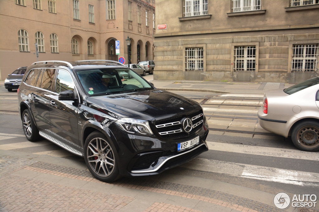 Mercedes-AMG GLS 63 - 15 avril 2016 - Autogespot