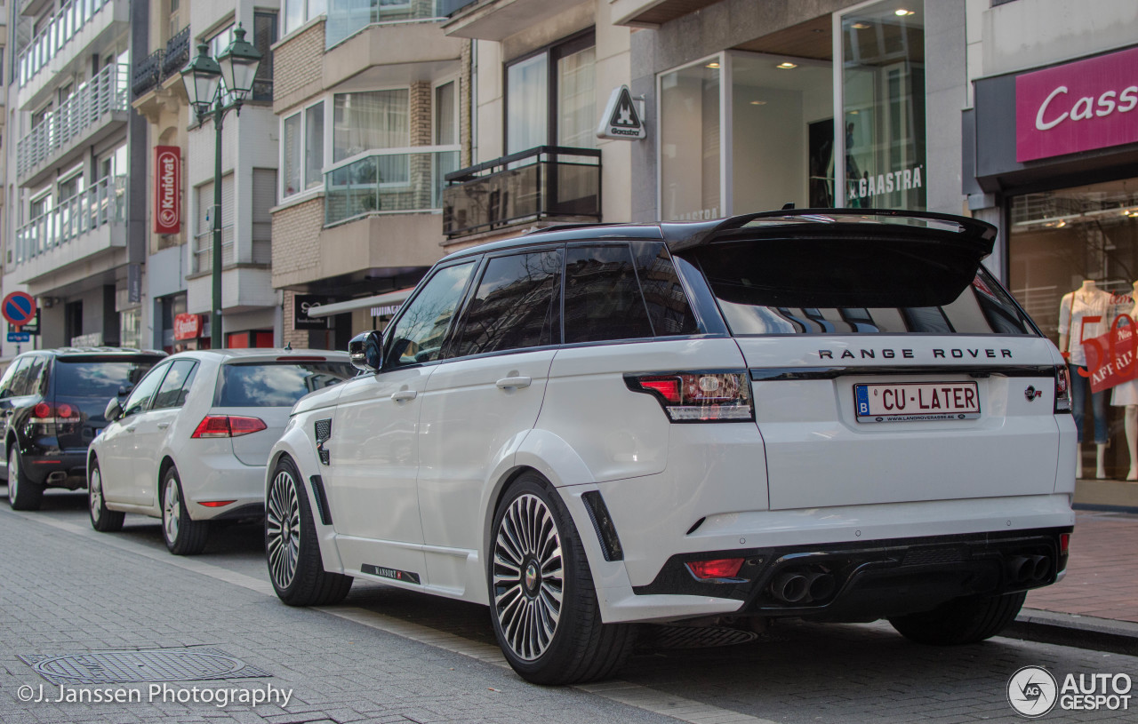 land rover mansory range rover sport svr 17 april 2016 autogespot. Black Bedroom Furniture Sets. Home Design Ideas