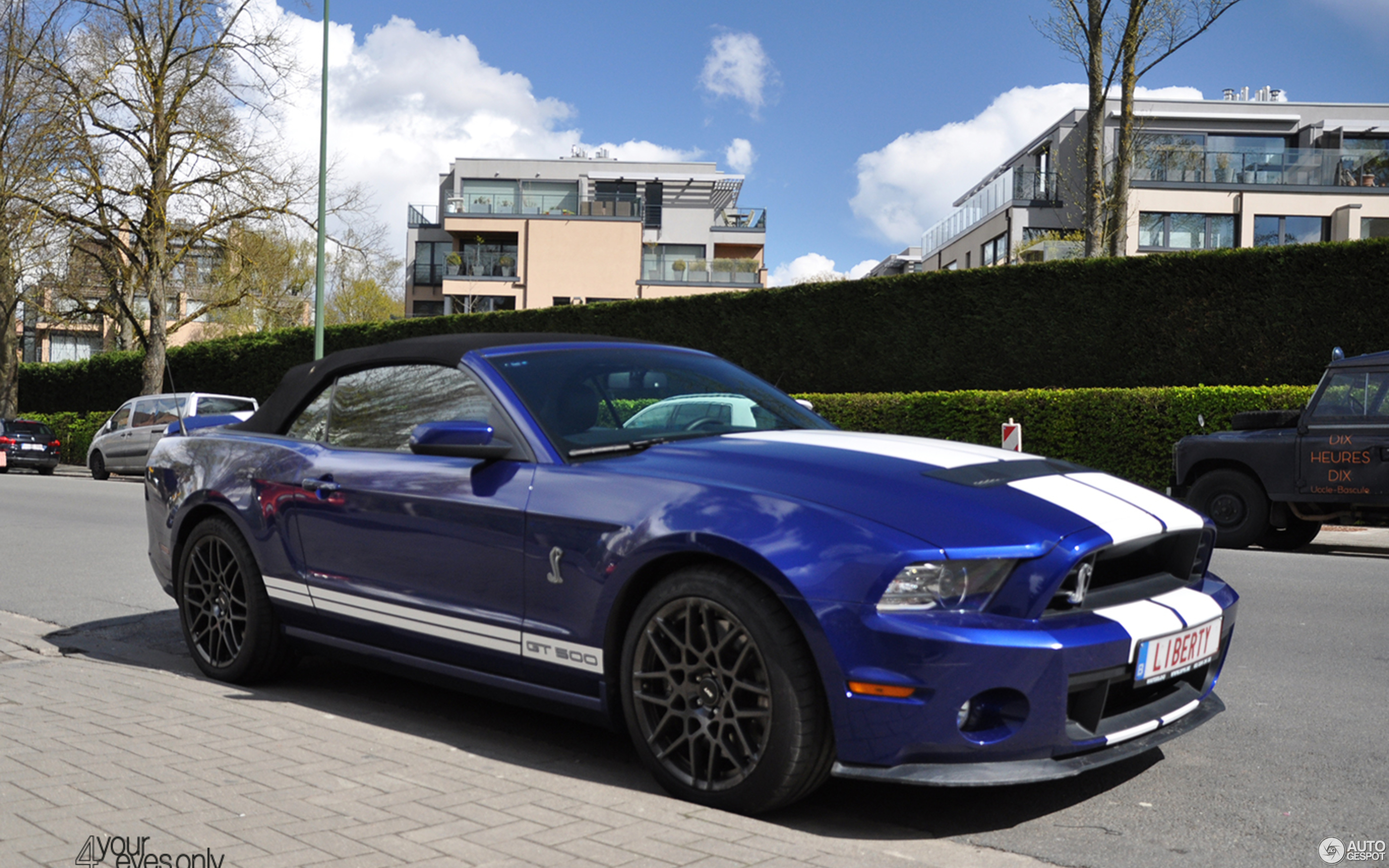 Ford Mustang Shelby GT500 Convertible 2014 17 April 2016 Autogespot
