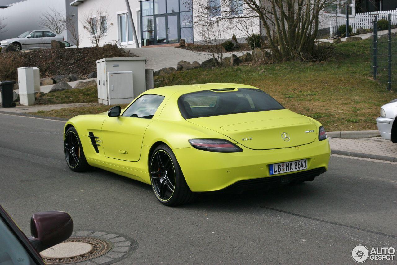 mercedes benz sls amg electric drive - Mercedes Benz Sls Amg Electric Drive Black