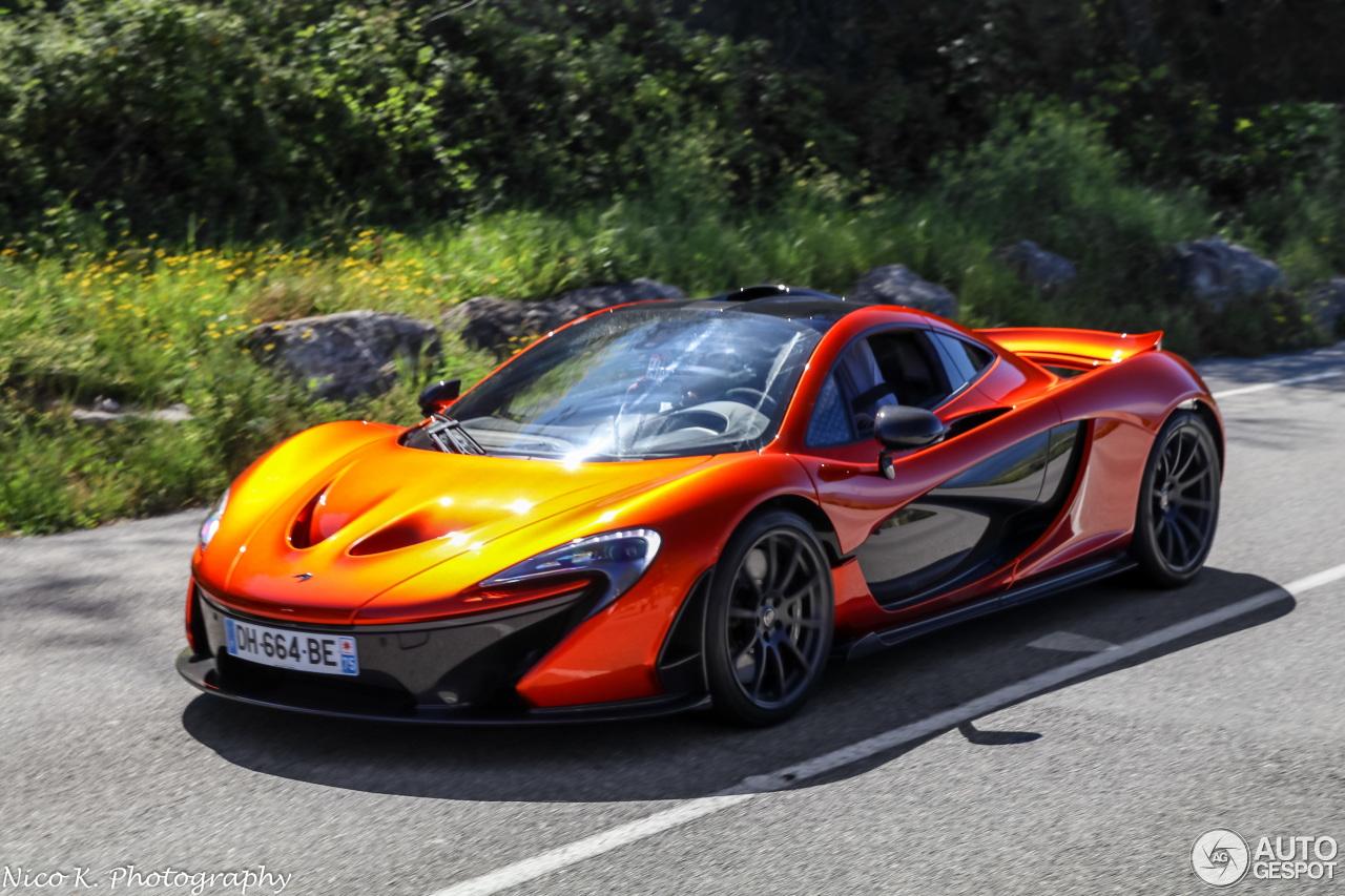 Mclaren P1 22 Avril 2016 Autogespot