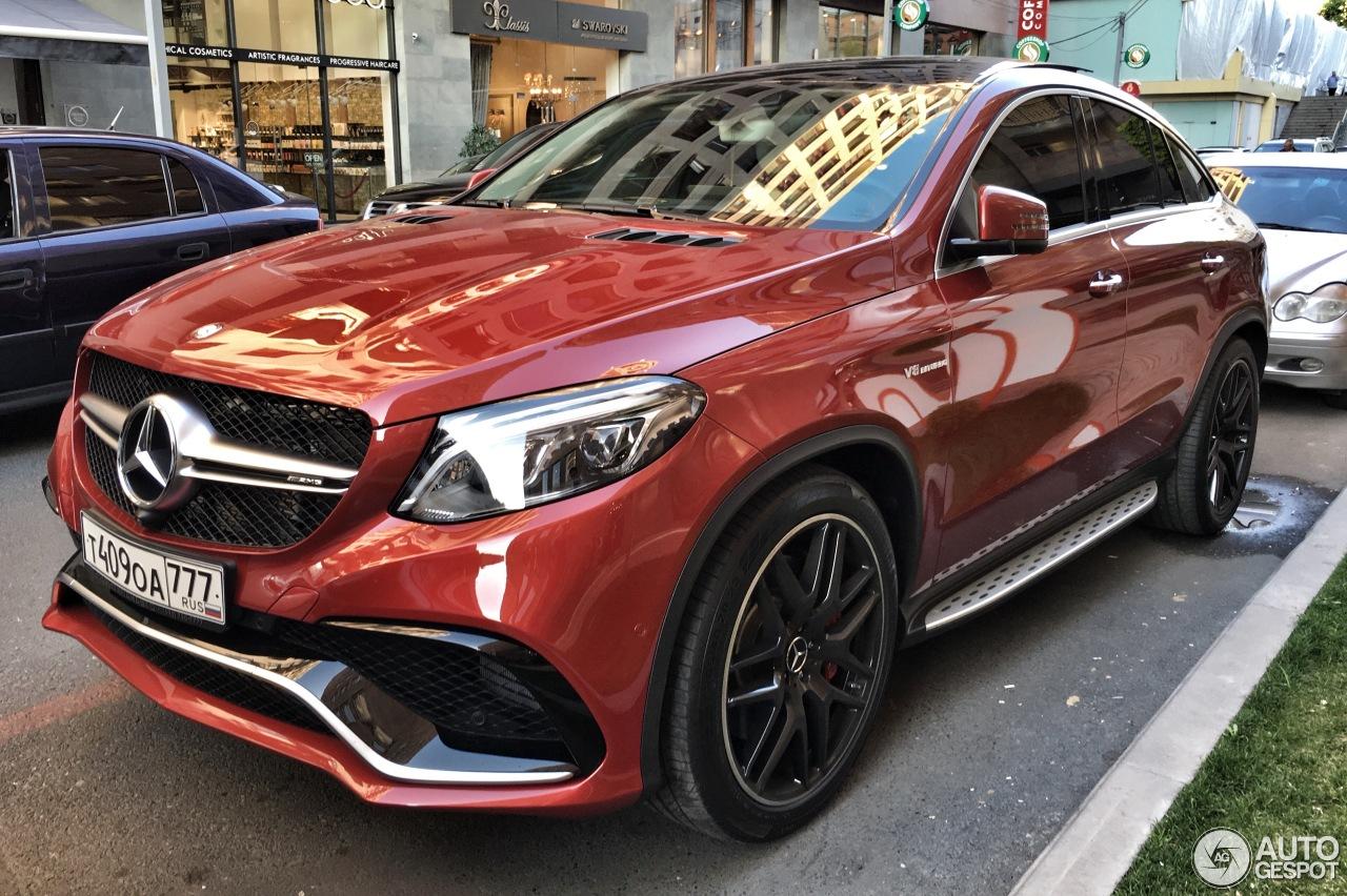 Mercedes Amg Gle 63 S Coup 233 24 April 2016 Autogespot