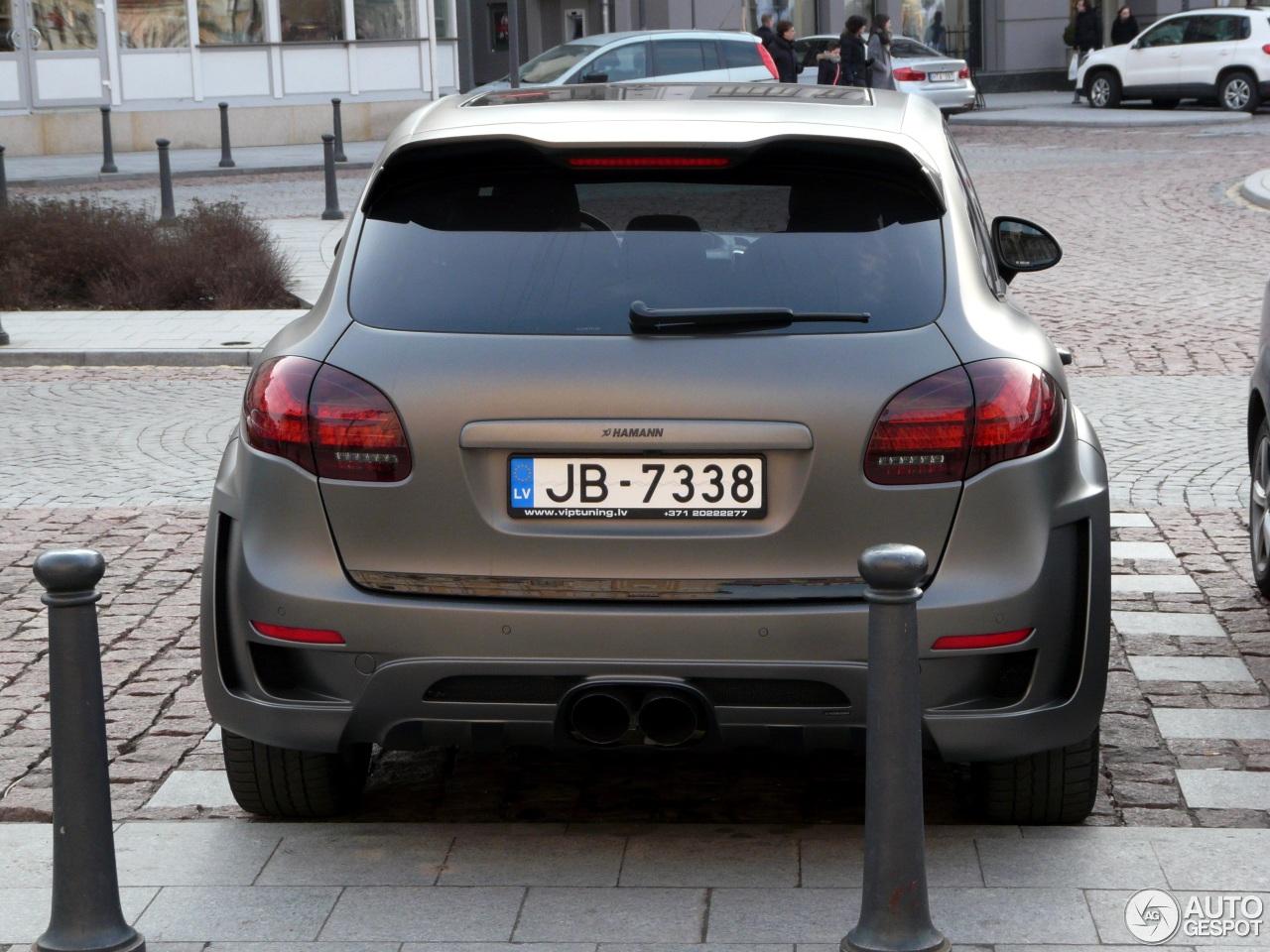 Porsche Cayenne Hamann Guardian 25 April 2016 Autogespot