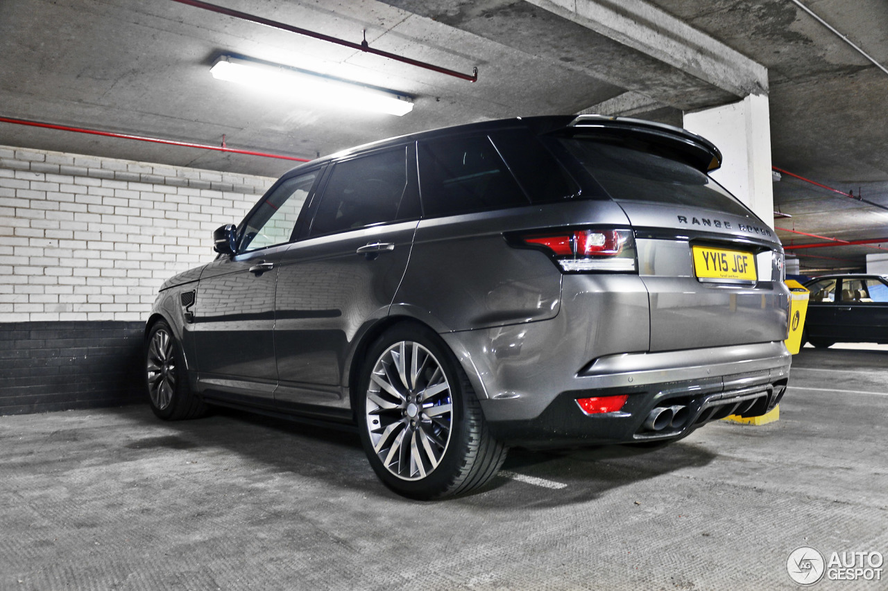 land rover range rover sport svr 27 april 2016 autogespot. Black Bedroom Furniture Sets. Home Design Ideas