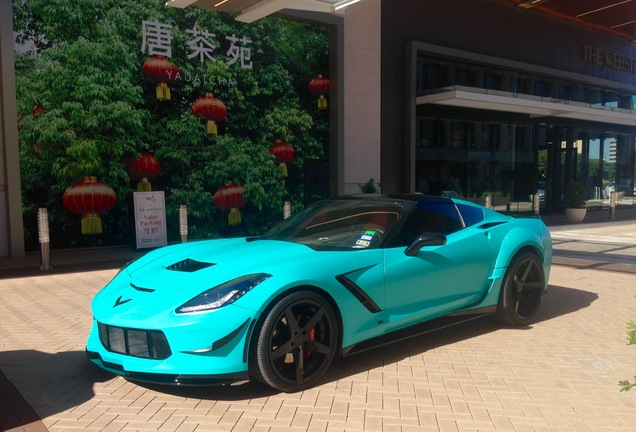 Chevrolet Corvette C7 Stingray Prior Design