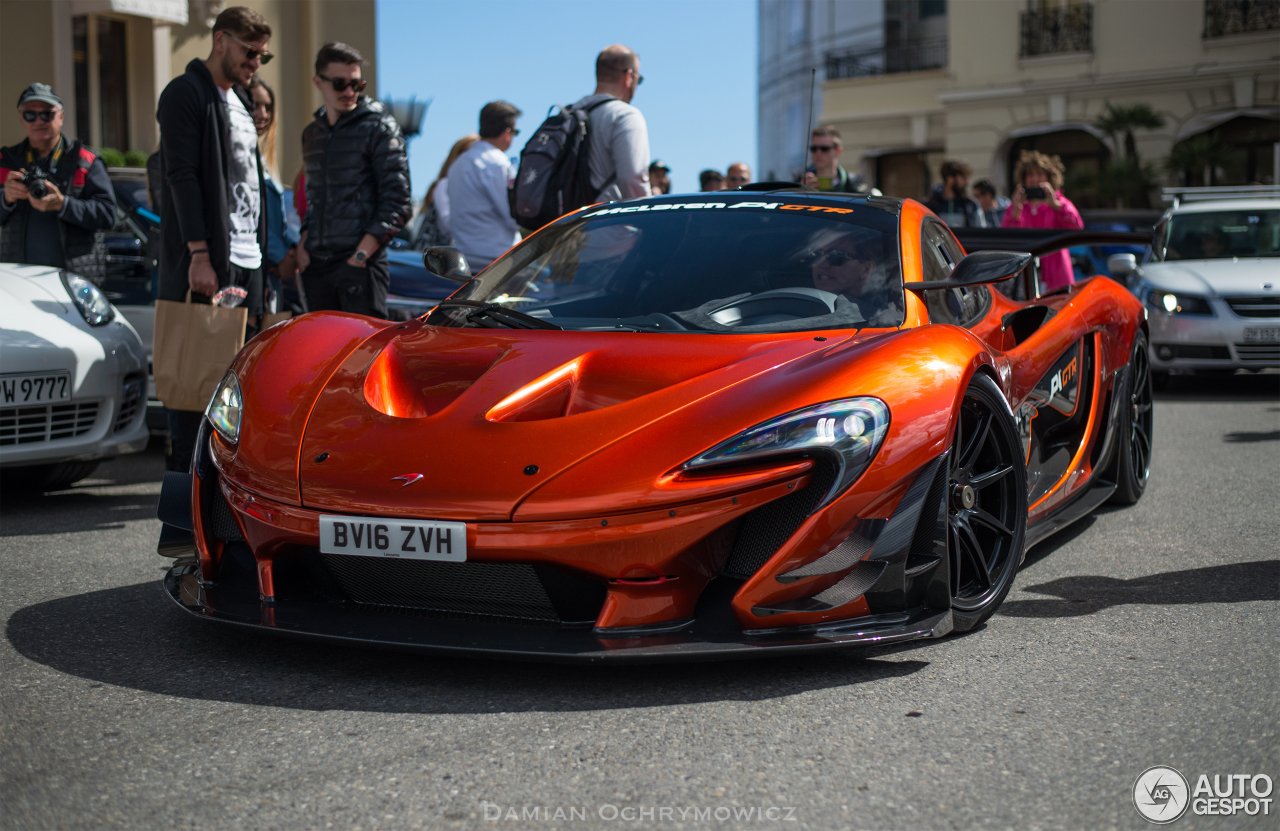 Mclaren P1 Orange >> McLaren P1 GTR - 1 May 2016 - Autogespot