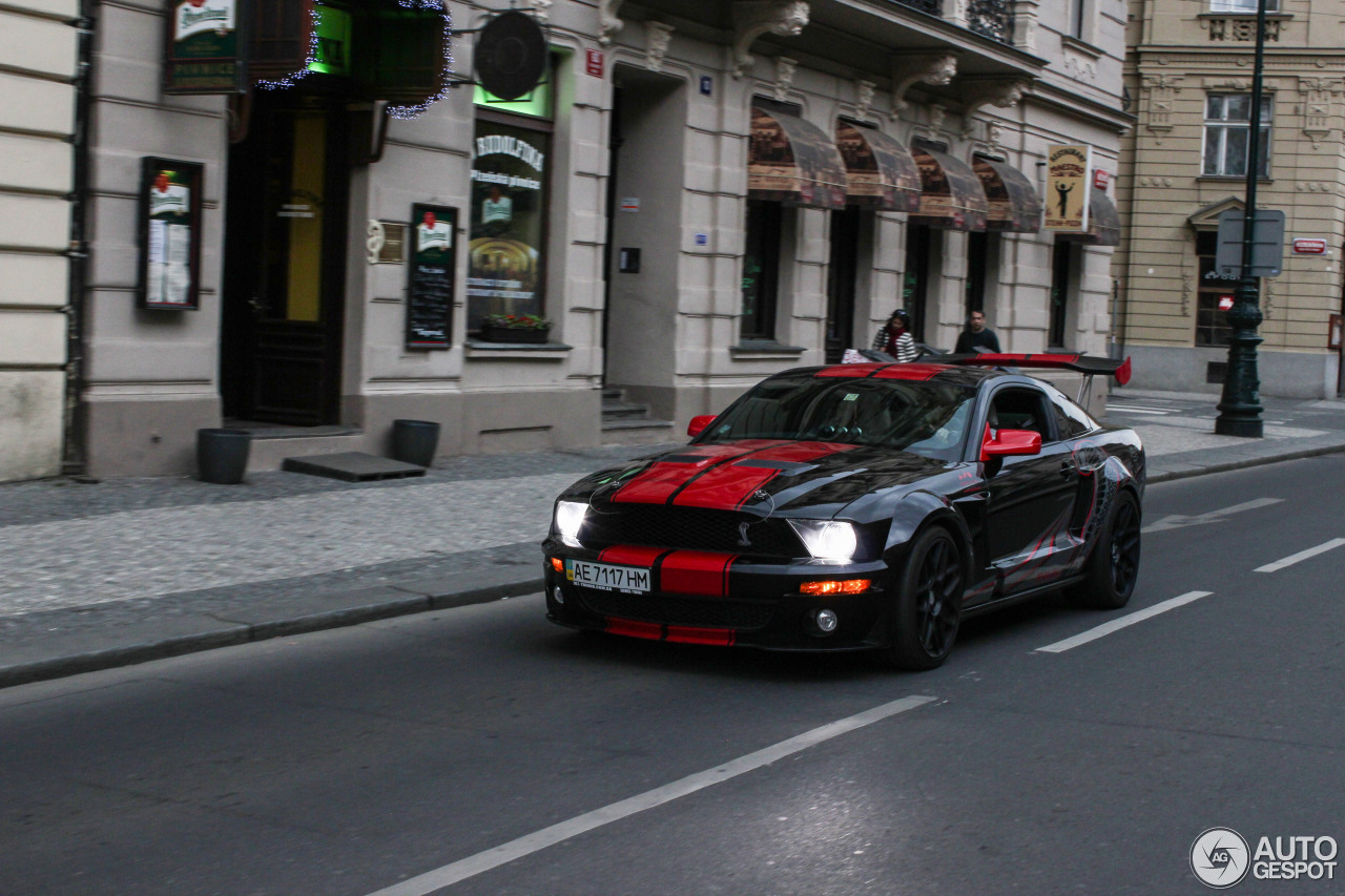 Ford Mustang Shelby Gt500 Red Stripe Limited Edition 2
