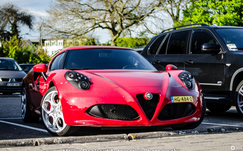 Alfa Romeo 4C 2 Mai 2016 Autogespot