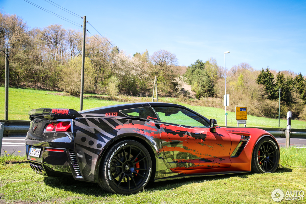 Chevrolet Corvette C7 Z06 Bbm Motorsport 5 May 2016