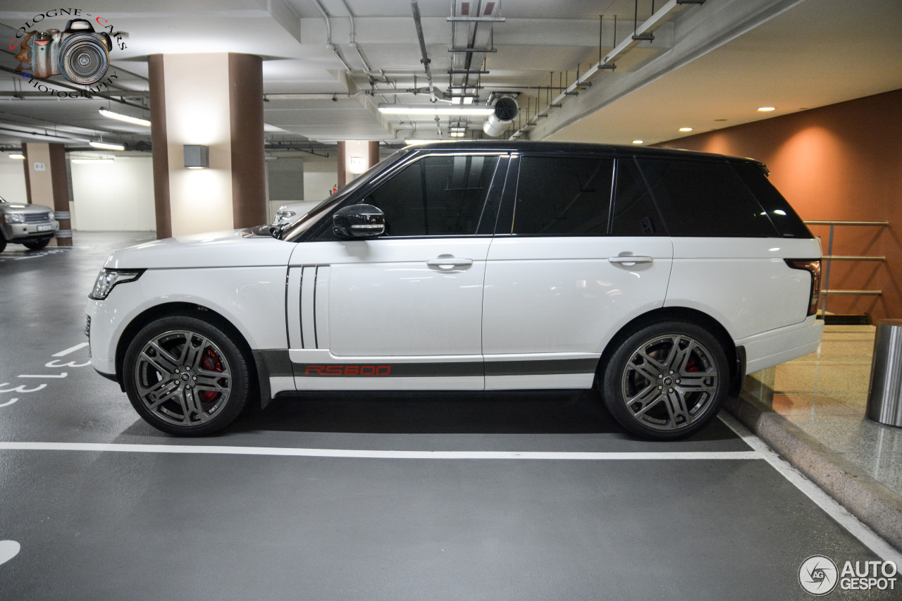 2015 Land Rover Range Rover >> Land Rover Range Rover Vogue RS600 by Project Kahn - 6 May 2016 - Autogespot