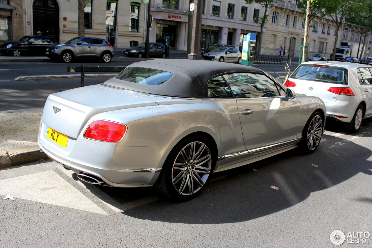 bentley continental gtc speed 2015 8 mei 2016 autogespot. Black Bedroom Furniture Sets. Home Design Ideas
