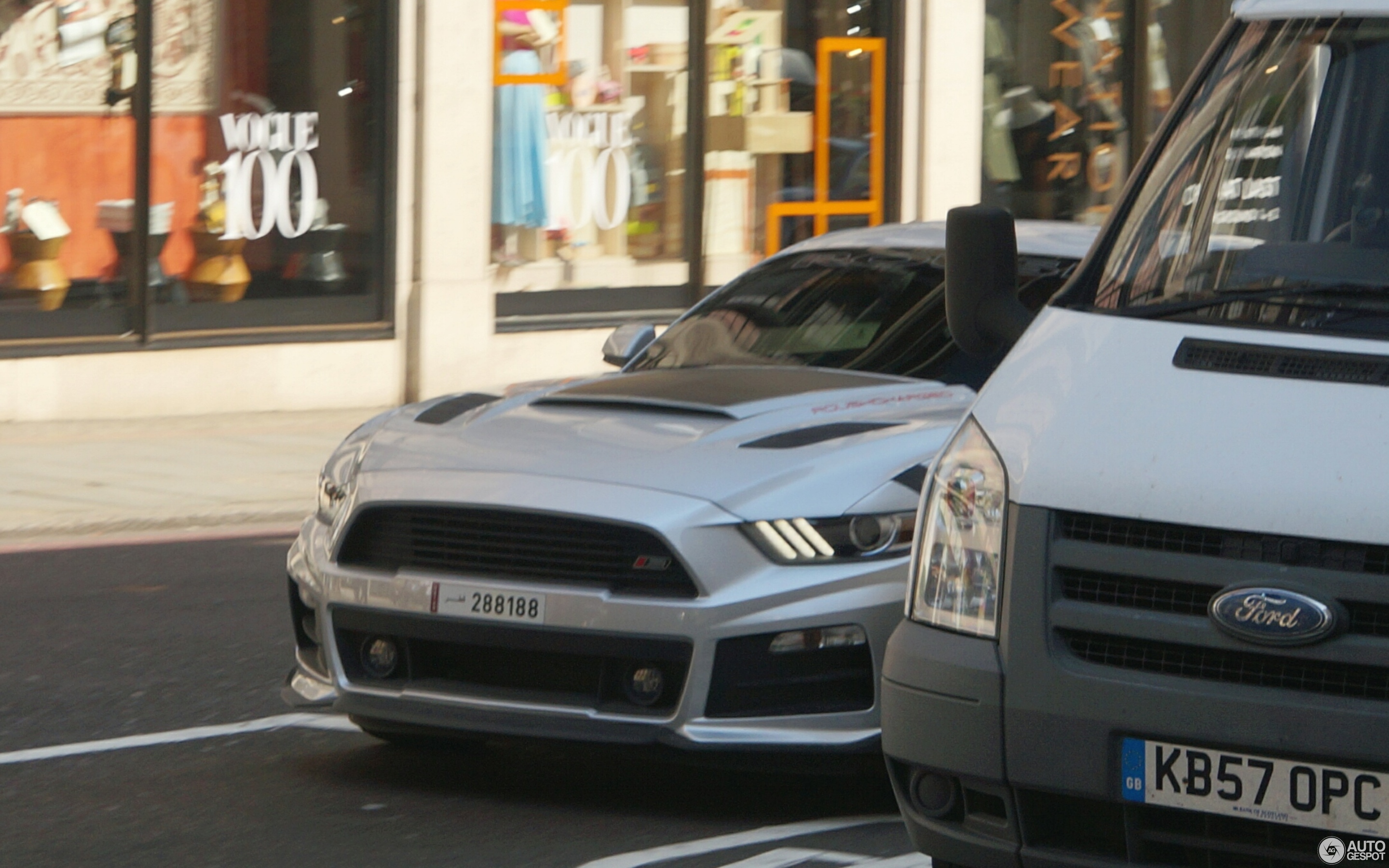 ford mustang roush stage 2 2015 11 may 2016 autogespot