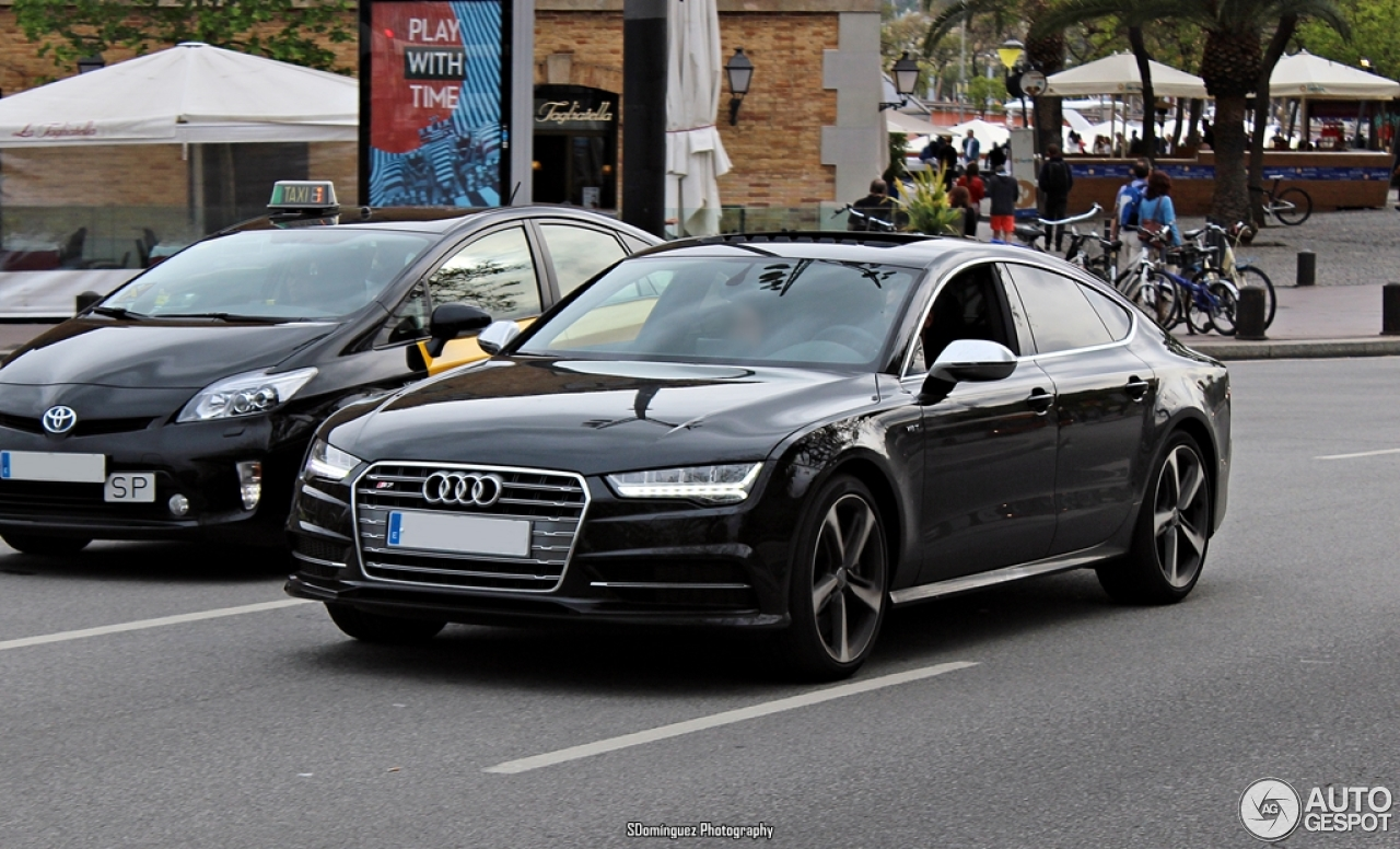 audi s7 sportback 2015 14 may 2016 autogespot. Black Bedroom Furniture Sets. Home Design Ideas