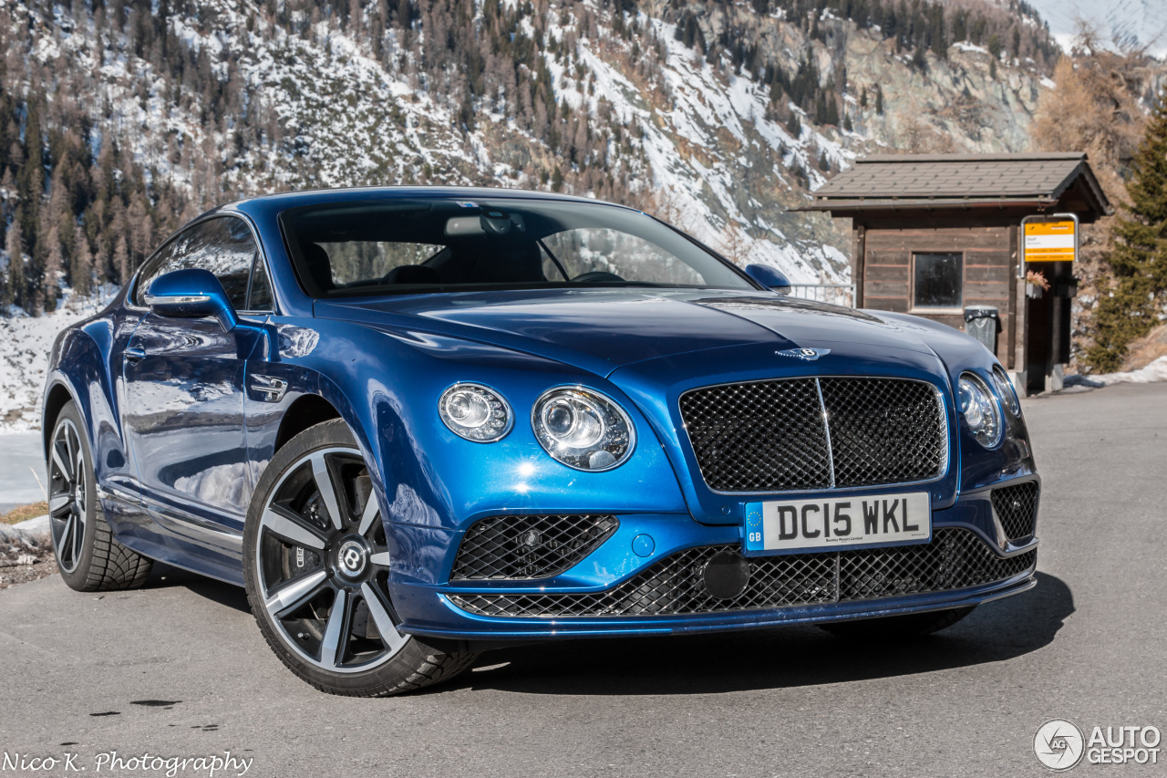 Bentley Continental Gt Speed 2016 14 May 2016 Autogespot