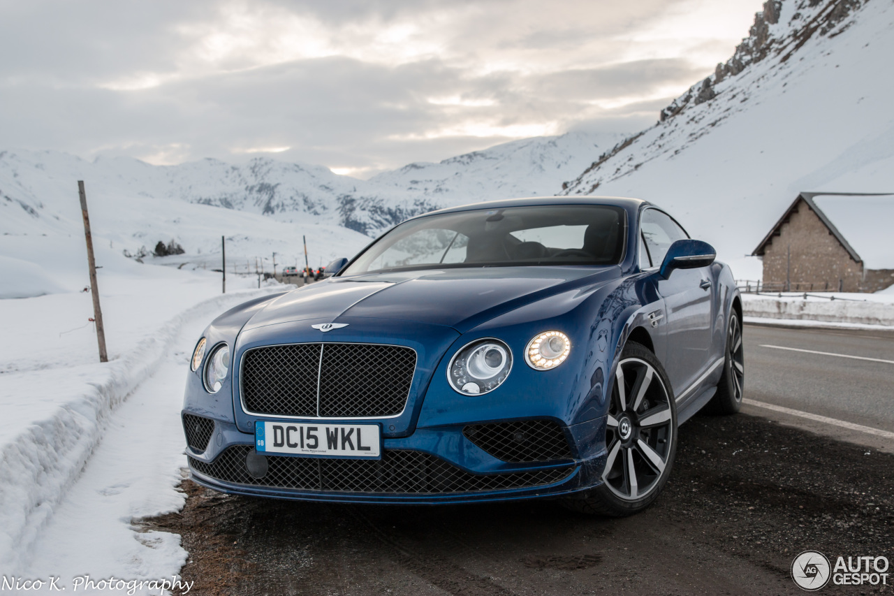bentley continental gt speed 2016 14 may 2016 autogespot. Black Bedroom Furniture Sets. Home Design Ideas