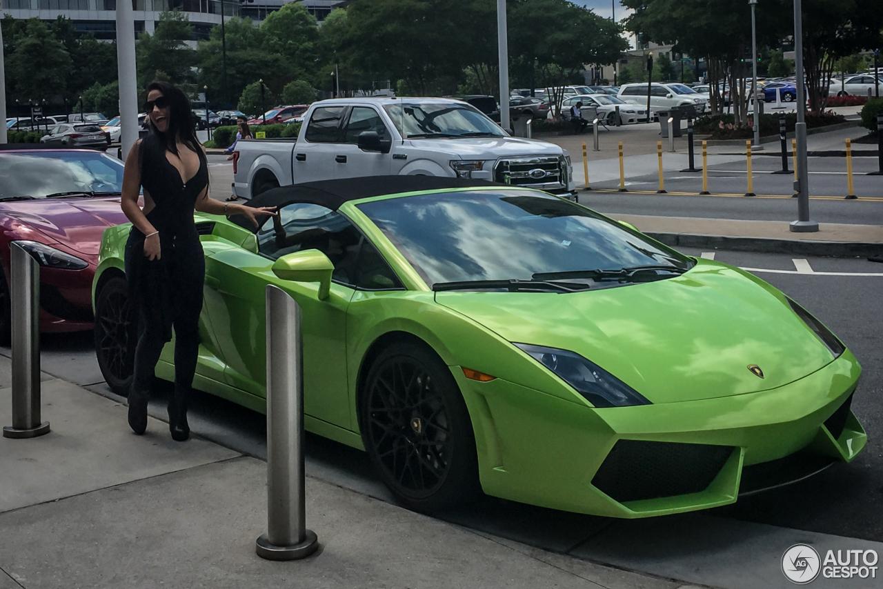 Lamborghini Gallardo Lp560 4 Spyder 14 May 2016 Autogespot